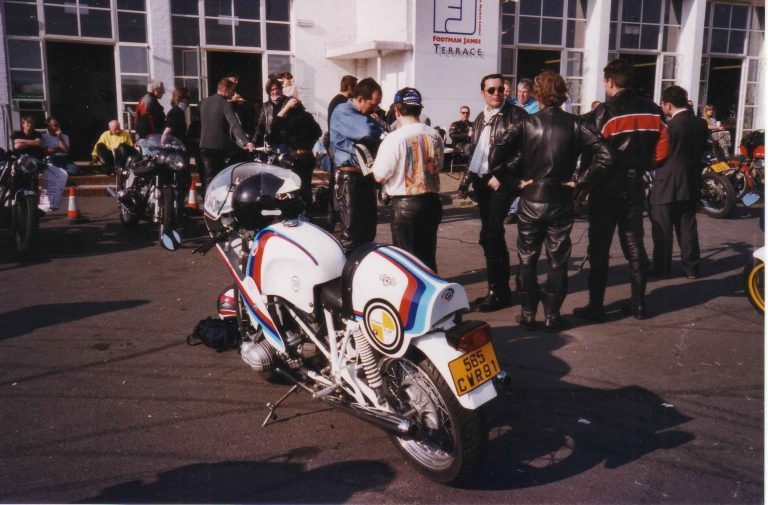 Ace Cafe BMW Day mars 2003