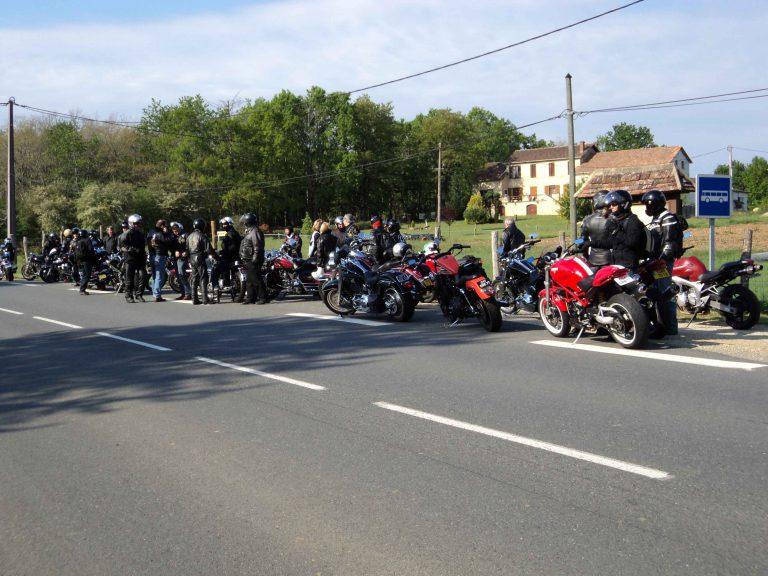 2010 Réunion du club en Dordogne