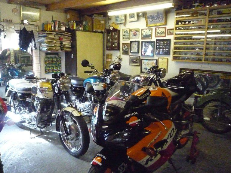 Irlande North West 2009 garage famille Joe Dunlop