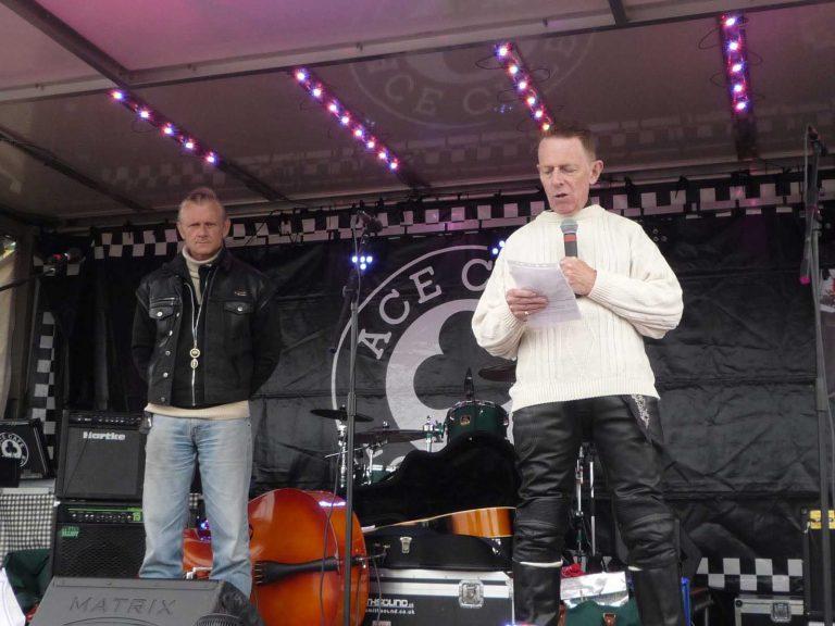 Ace Cafe Reunion 2015 Father Scott et Mark Wilsmore